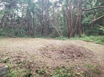 Two lost and forgotten burial mounds in the countryside of South Korea