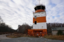 Two Naval Air Traffic Control Towers Sit Unused in Weymouth MA More info and album in comments