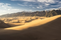 Two steps forward and one step backbut the view at Great Sand Dunes National Park is worth it