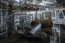 Two years ago I sneaked into an active Russian base to see two abandoned Buran shuttles