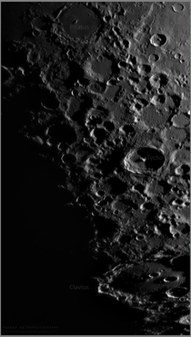 Tycho and Clavius Craters