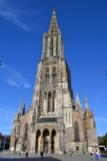 Ulm Minster Baden-Wrttemberg Germany - tallest church building in the world  m ft x