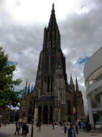Ulm Minster the tallest church in the world  ft  OC