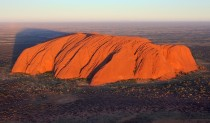 Uluru a large sandstone rock formation in the southern part of the Northern Territory central Australia  photo by duchess