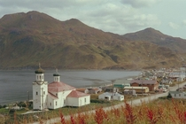Unalaska Alaska Together with neighboring Dutch Harbor this is the biggest city in the Aleutian Islands