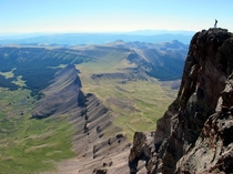 Uncompahgre Peak Colorado