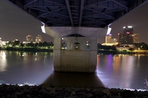 Under the Bridge Little Rock Arkansas  OC
