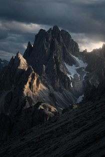Under the right conditions the Dolomitesin Italy look like Mordor