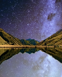 Under the stars at Moke Lake New Zealand