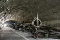 Underground air base