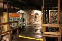 Underground tour in Seattle reveals an abandoned past