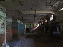 Undergrounds of an abandoned hospital