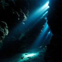 Underwater cave - Red Sea