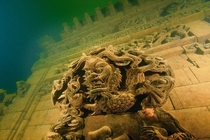 Underwater ruins of Schicheng in China by Wu Lixin