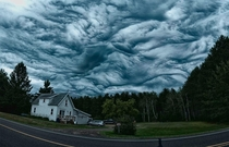 Undulatus Asperatus clouds look like theyre from a painting