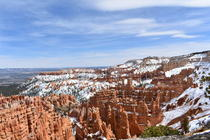 Unedited photo of Bryce Canyon April    x