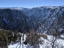 Unedited picture of the Black Canyon of the Gunnison National Park