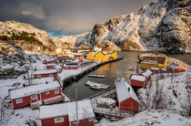 UNESCO fishing village Nusfjord Norway