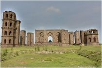 Unfinished and Abandoned tomb of Jahan Begum the wife of Muhammad Adil Shah r- Bijapur India
