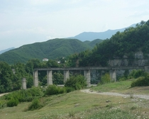 Unfinished Communist Era Railway Project - Albania