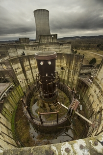 Unfinished Nuclear Reactor
