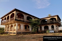 Unfinished Royal Palace in Champasak Laos