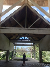 Unfinished Sheraton -star resort in Rarotonga