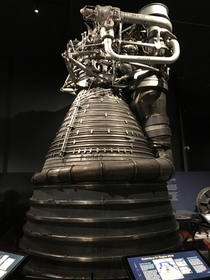 Unflown F- engine F- originally for Apollo