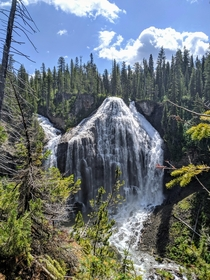Union Falls in Yellowstone National Park