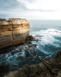 Unique cliff formations at the Great Ocean Road Victoria Australia  IG mvttmic