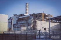 Unit  of the Lenin power plant in Chernobyl from a visit around  years ago before the sarcophagus was put in place