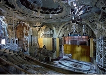 United Artists Theater Detroit Built  abandoned