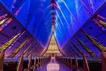 United States Air Force Protestant Cadet Chapel Colorado Springs CO