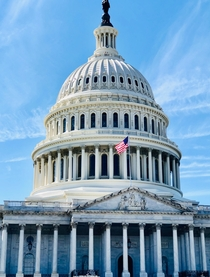 United States Capitol Building was completed in  A fine example of th-century neoclassical architecture its designs derived from ancient Greece and Rome evoke the ideals that guided the nations founders as they framed their new republic