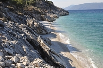 Unnamed beach at Kefalonia Greece