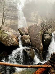 Unnamed Falls in East Tennessee