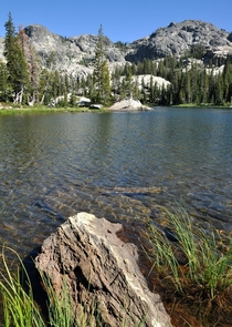 Unnamed lake in the Sierra