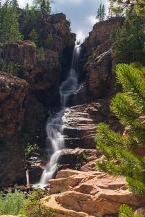 Unnamed waterfall - Little Deer Creek Uinta National Forest Utah