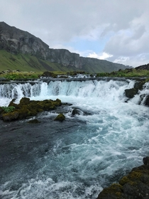 Unnamed waterfall on the side of the Ring Road Iceland