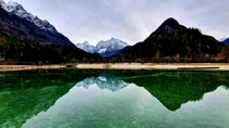 Unreal - Nature is massive Beautiful Slovenia Lake Jasna Slovenia x