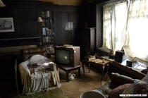 Untouched Earthquake damaged house full of antiques New Zealand