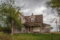 Untouched house in rural Nebraska