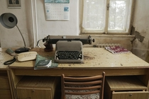 Untouched Vintage Workspace in the Trophy Hunter Mansion x  more in the Comments