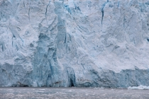 Up Close to a Glacier near Seward Alaska