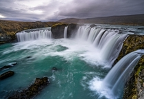 Up close with one of Icelands finest waterfall - Goafoss