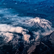 Up in the air Mount Jefferson Oregon  IG GiorgioSuighi