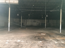 Uploaded a picture of the exterior of an abandoned Ames store here earlier today Well heres a picture of the inside showing the former sales floor
