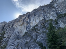 Upper Falls hike - Yosemite National Park-