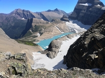 Upper Grinnell Lake Glacier National Park in Montana OC  x