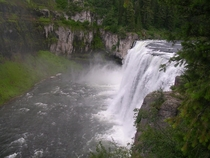 Upper Mesa Falls in eastern Idaho